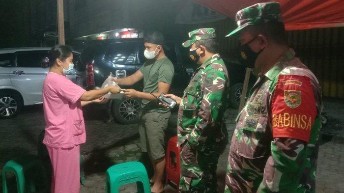 PPKM Darurat, Koramil 410-06/Kedaton Patroli Prokes Dilakukan Hingga Malam Hari