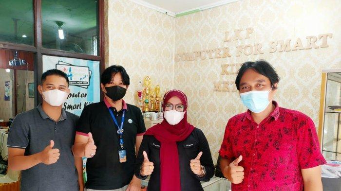Pembuatan Media Ajar Interaktif, LP2M IIB Darmajaya Jajaki Kerjasama dengan LKP di Metro