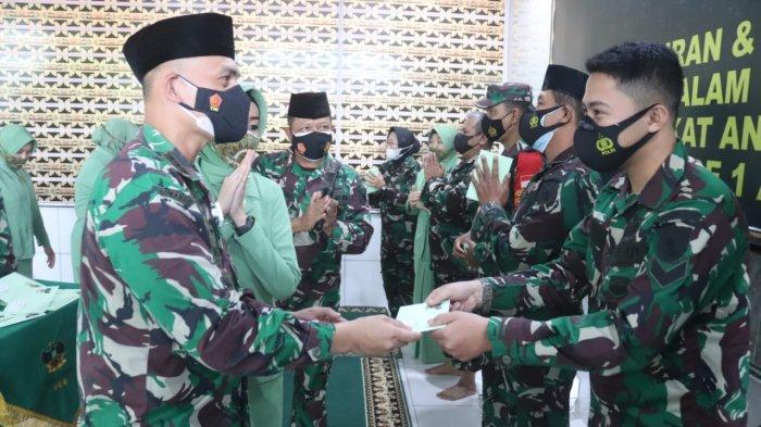 Dandim 0410/KBL Kolonel Inf Romas Herlandes Hadiri Syukuran dan Do'a Bersama di Makodim