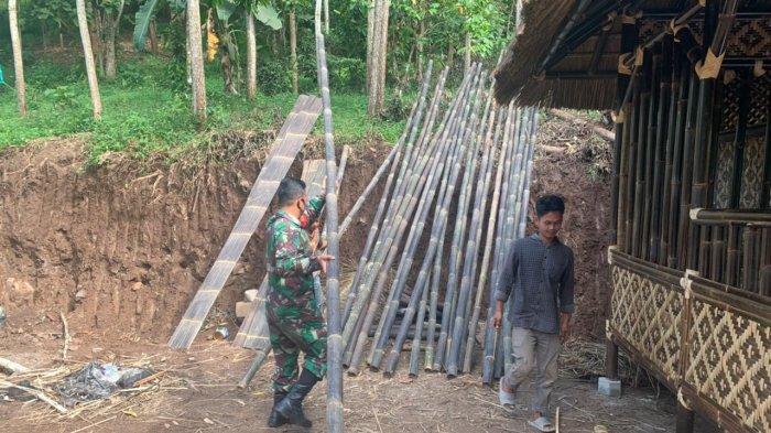 Komunikasi Sosial TNI, Koramil 410-02/TBS Rutin Kunjungi Warga Binaanya
