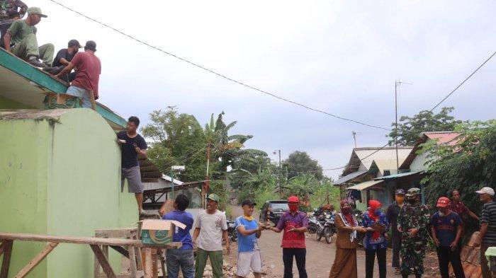 Rangkaian Kegiatan TMMD ke 109, Kodim 0410 Perbaiki Musholla Nurtajali Garuntang