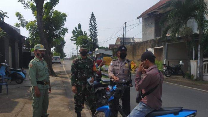 Cegah Kluster Covid 19, Koramil 410-06/Kedaton Rutin Imbau Prokes Warga di Sepang Jaya