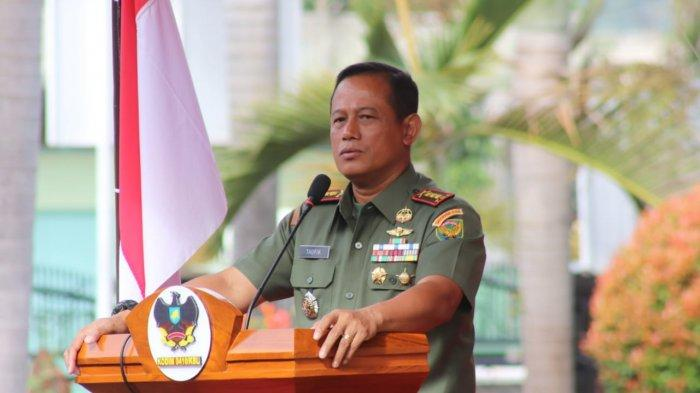 Kolonel Inf Romas Herlandes Menerima Kunjungan Danrem 043/Gatam