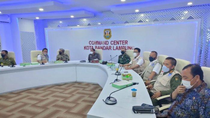 Komandan Kodim 0410/KBL Kolonel Inf Romas Herlandes Sambut Kedatangan Letjen TNI Doni Monardo