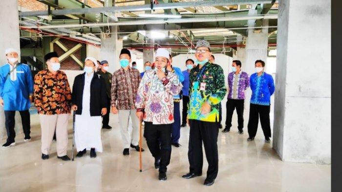 Bupati Pesisir Barat Agus Istiqlal Terima Kunjungan Kerja Walikota Bengkulu