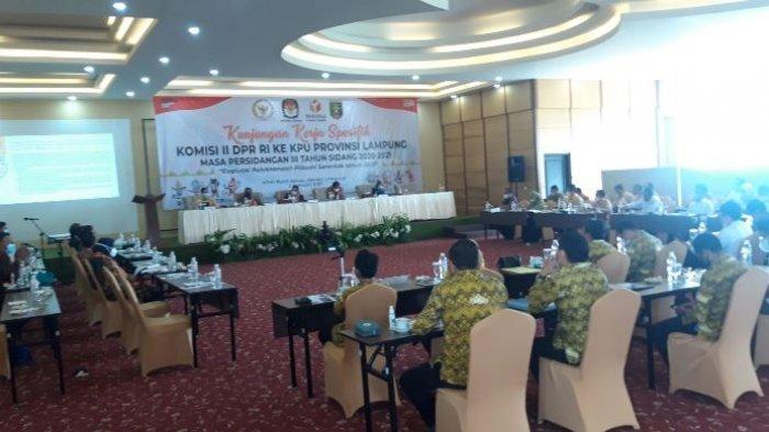 Komisi II DPR RI Sentil Bawaslu Lampung Terkait Diskualifikasi Paslon di Pilkada Bandar Lampung 2020