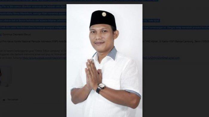 Komite Nasional Pemuda Indonesia Bandar Lampung Mengucapkan Selamat Hari Raya Idul Fitri 1442 H
