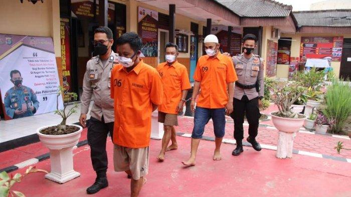 Komplotan Pengedar Narkoba Terungkap dari Sebuah Gubuk di Pringsewu