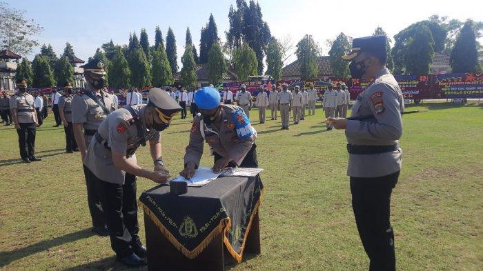 Sah, Kompol Dwi Santosa Jabat Wakapolres Lampung Utara