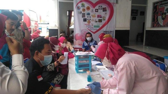 Komunitas Peduli Talasemia Lampung Utara Gelar Donor Darah