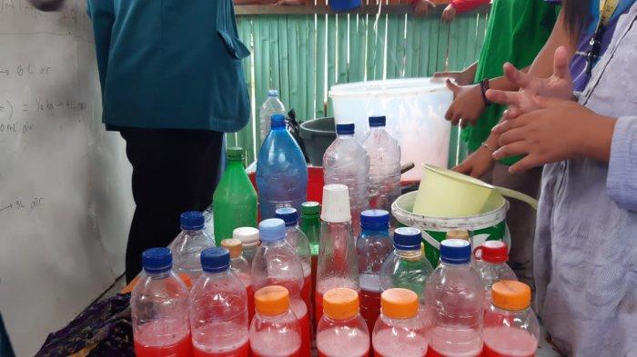 Kegiatan Komunitas Sahabat Laut Indonesia.