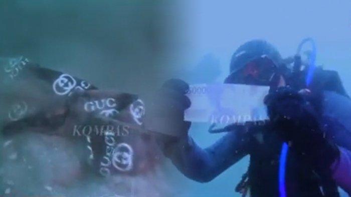 Rekaman di Dasar Laut Saat Pencarian Korban Sriwijaya Air SJ-182