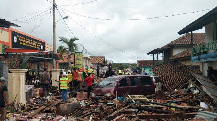 UPDATE TSUNAMI LAMPUNG BANTEN - Korban Meninggal Dunia Capai 431 Orang dan 7.200 Korban Luka-luka