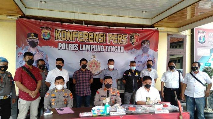 BREAKING NEWS 48 Pelaku Kriminalitas Diamankan Polres Lampung Tengah