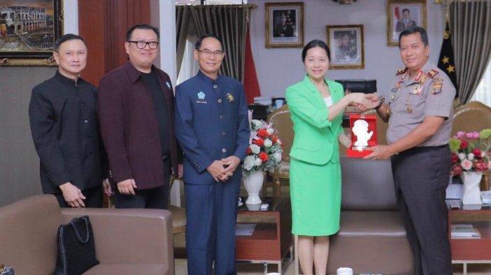 Konjen Tiongkok Silaturahmi ke Kapolda Purwadi Arianto, Siap Jalin Kerja Sama dengan Polda Lampung