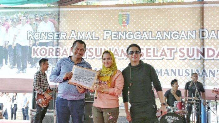 Konser Amal Penggalangan Dana Korban Tsunami Meriah, Berhasil Kumpulkan Dana Rp443 Juta