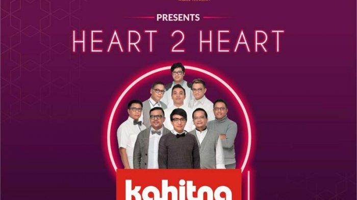 Konser Heart 2 Heart Kahitna, Tukarkan Tiket di Graha Wangsa