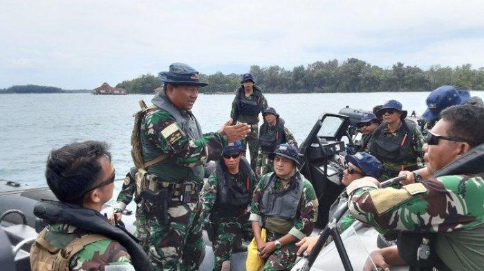 Pasukan Elit TNI Jaga Pulau Sebaru Terkait Virus Corona