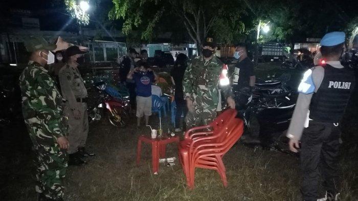 Lapangan Bandar Sribhawono Kembali Jadi Sasaran Operasi Pendisiplinan Prokes