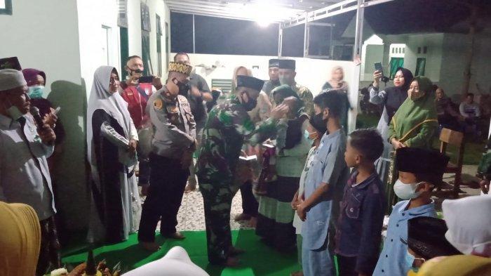 Peringati HUT Ke-76 TNI, Koramil Way Bungur Lampung Timur Gelar Istigasah