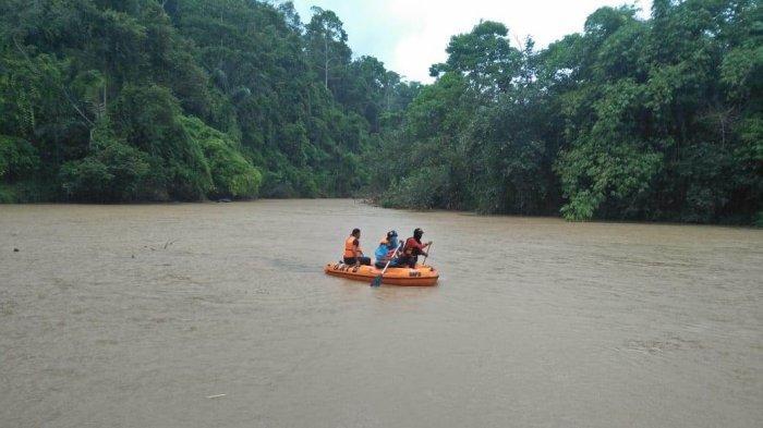 Cuaca Buruk, Pencarian Korban Tenggelam di Way Sekampung Dilanjutkan Besok