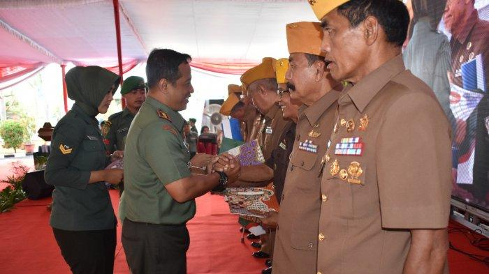 Korem 043/GATAM Gelar Syukuran Hari Juang Ke-74 TNI AD Tahun 2019