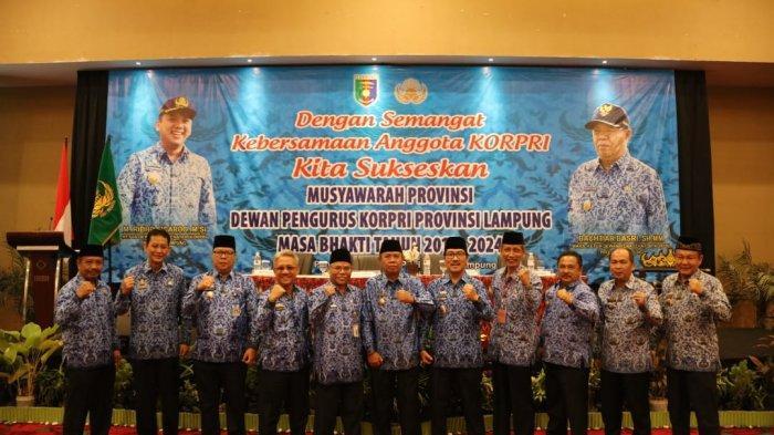 Korpri Lampung Jadi Percontohan Nasional, Wagub Bachtiar Minta Terus Tingkatkan Jiwa Korsa