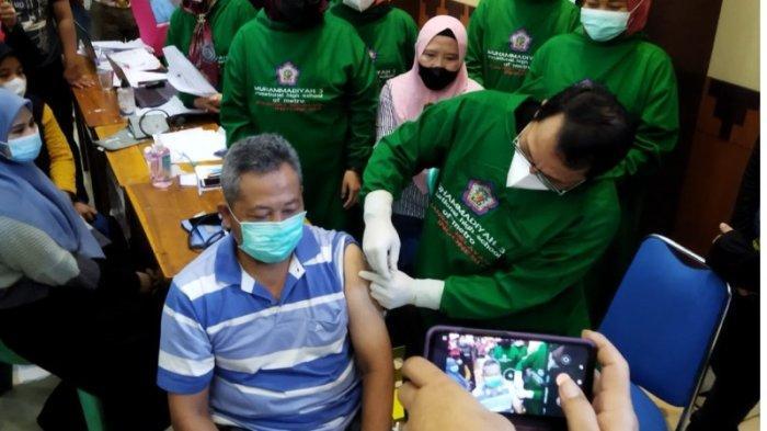 Kota Metro Lampung Gelar Vaksinasi Massal, Siapkan 3.000 Dosis