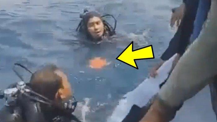 Kotak Hitam Lion Air Ditemukan Penyelam, Ini Video Detik-detik Black Box Diangkat dari Laut