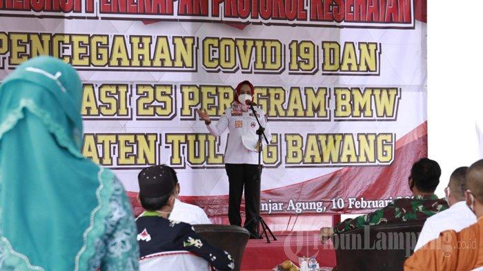 KPK Beri Dana Rp 8,5 Miliar untuk Pemkab Tulangbawang