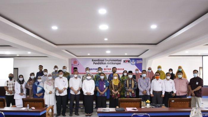 KPK Gelar Koordinasi Implementasi Pendidikan Antikorupsi di UMITRA