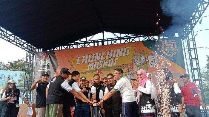 KPU Bandar Lampung Resmi Launching Jingle dan Maskot Pilkada 2020