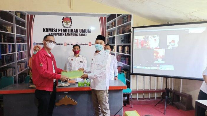 KPU Lampung Barat Sosialisasi Aplikasi Cek DPT KPU Lampung