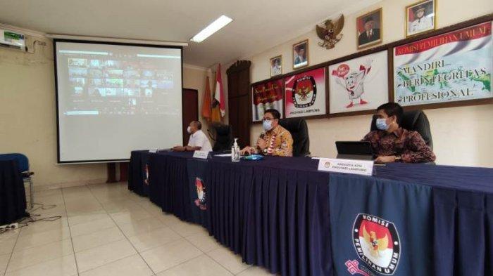 KPU Lampung Sosialisasikan Program Desa Peduli Pemilu dan Pemilihan Kepada 15 Kabupaten/Kota