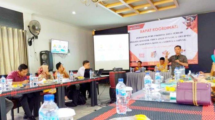 KPU Lampung Petakan Ada 8.087 TPS pada Pilkada Serentak 2020