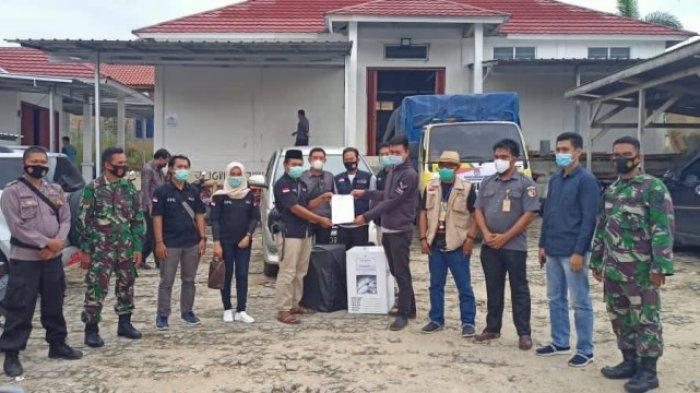 KPU Way Kanan Sudah Terima Kotak Suara dari Seluruh PPK