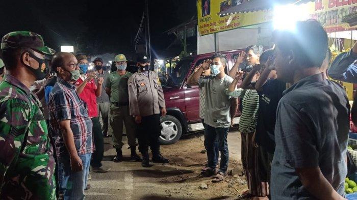 Patroli Prokes, Babinsa Serka Agus Raharjo : Warga Wajib Gunakan Masker