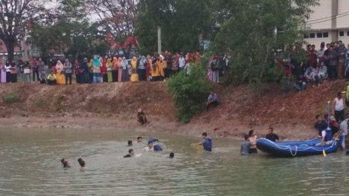 Kronologi 2 Mahasiswa Baru Tewas Tenggelam di UIN Lampung, Mau Ambil Sepatu Dilempar ke Dalam Embung