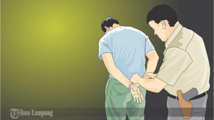 Digerebek saat Pesta Sabu, 4 Pemuda Diamankan Polsek Natar