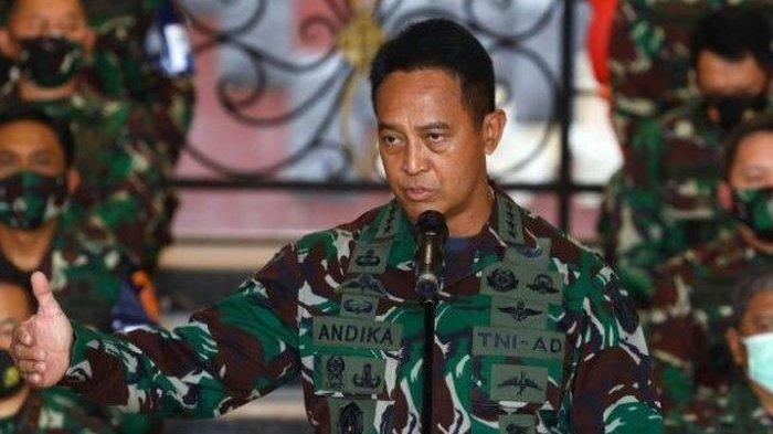 Daftar 12 Perwira Tinggi TNI AD yang Naik Pangkat