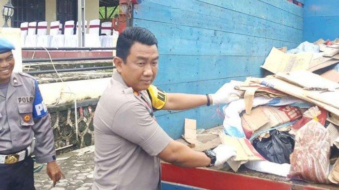Polres Lampung Selatan Gagalkan Penyelundupan Ratusan Kilogram Daging Celeng di Bakauheni