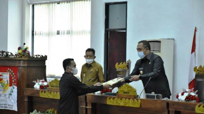 Pendapatan Daerah pada KUA PPAS APBD Perubahan 2021 Tubaba Lampung Sebesar 920,1 Miliar