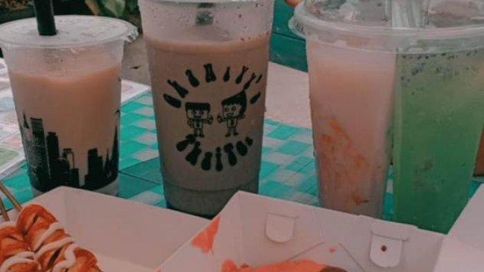 Kuliner Lampung, Aneka Minuman Segar dan Camilan di Ghaniyy's Thai Tea Mulai Rp 5 Ribu