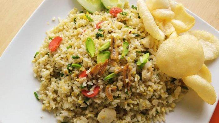 Kuliner Lampung, Aneka Nasi Goreng Kedai Giba Rasanya Enak Harganya Ramah di Kantong