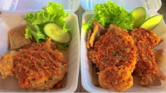 Kuliner Lampung, Ayam Nyablak Galerishfood_Lpg Jadi Pilihan Menu Berbuka Puasa