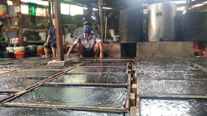 Kuliner Lampung, Beli Langsung di Rumah Produksi, Harga Sepotong Cincau Cuma Rp 3 Ribu