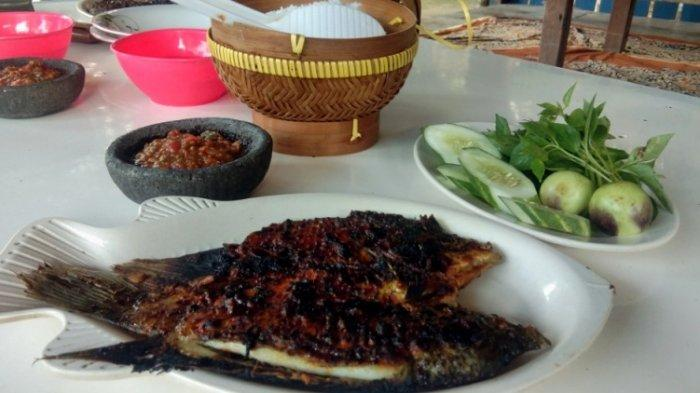 Kuliner Lampung, Gurame Bakar Pondok Rawit di Lampung Selatan Menggoyang Lidah