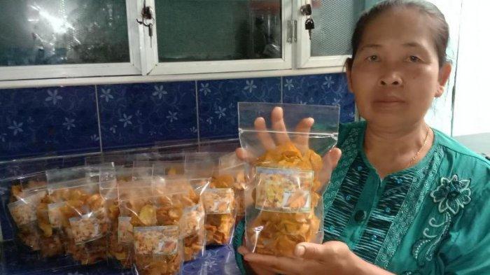 Kuliner Lampung, Keripik Muntul Madu Jos Gandos Aroma Jahe Harga Mulai Rp 10 Ribu