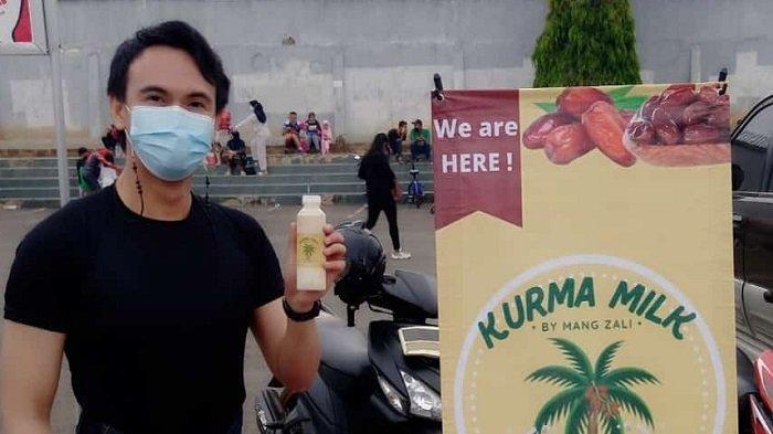 Kuliner Lampung, Minuman Kaya Manfaat Susu Kurma Mang Zali