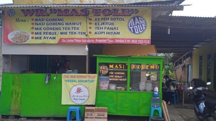 Kuliner Lampung, Nasi Goreng Mawut Jadi Favorit di Warung Mas Tole, Seporsi Rp 10 Ribu